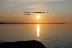 foto met tekst Sandor